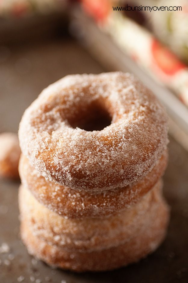 The BEST old fashioned cake donut recipe! via @Buns In My Oven