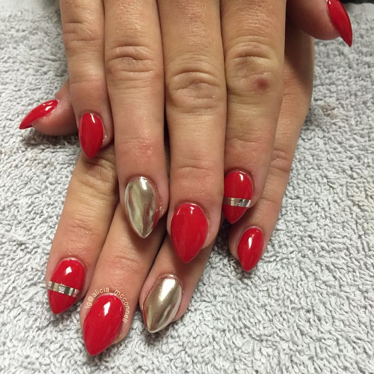 Crystal Chrome Nails: Best 25+ Red Chrome Nails Ideas On Pinterest