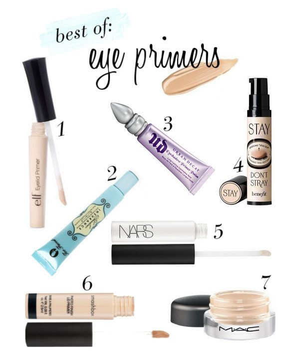 25+ best ideas about Eyeshadow primer on Pinterest | Primers ...