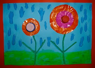 Spring flowers craft