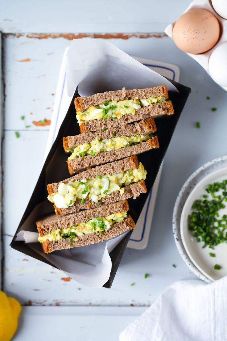 Rezept Avocado Eiersalat Stulle belegtes Brot zuckerzimtundliebe foodblog foodstyling avocado egg salad sandwich recipe