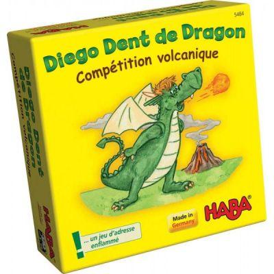 Diego Dent de Dragon: Compétition volcanique !
