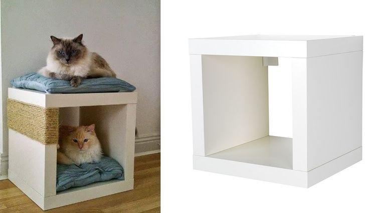 Deze 12 Geniale Ikea Hacks Speciaal Voor Jouw Katten Mag Je Niet Missen