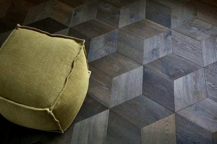 WE LOVE DELANO, CA  Und haben darum diesen ganz besonderen Musterboden so benannt: EICHE DELANO Flämisch-Grey als Rombenmuster aus leicht gealterter Eiche.  >> WIR sind die PARKETT-DESIGNER.