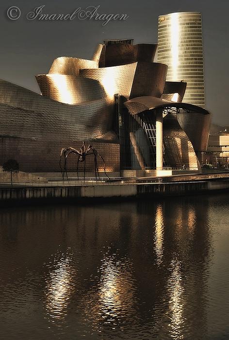 """Reflejos"" Guggenheim Bilbao"