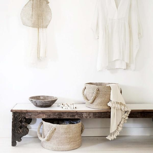 Seafarers Solo Basket - Natural