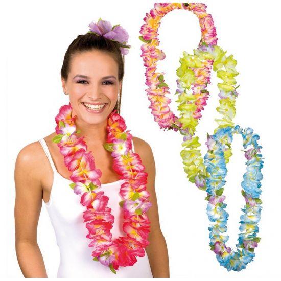 Bloemen Hawaii krans. Hawaii of tropisch feestje? Bij Fun en Feest vind je de leukste Hawaii feestartikelen, kostuums en accessoires. Toppers Crazy Summer accessoires tip!