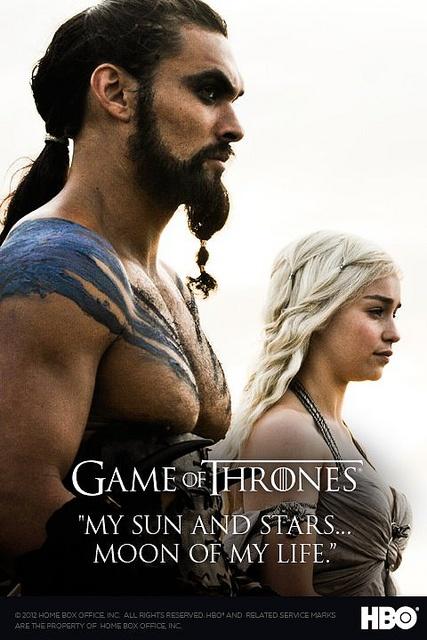 Game of Thrones Drogo & Daenerys Targaryen