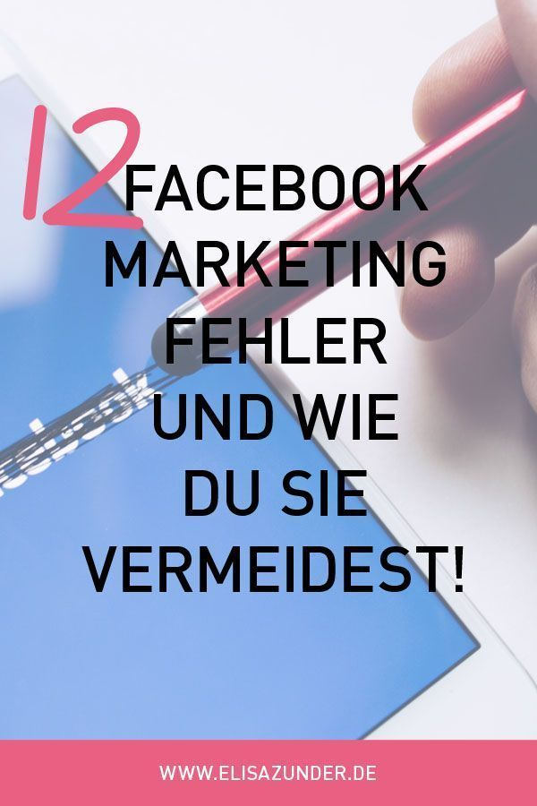 12 Facebook-Marketing Fehler, die Dich Kunden kosten – hi! share that