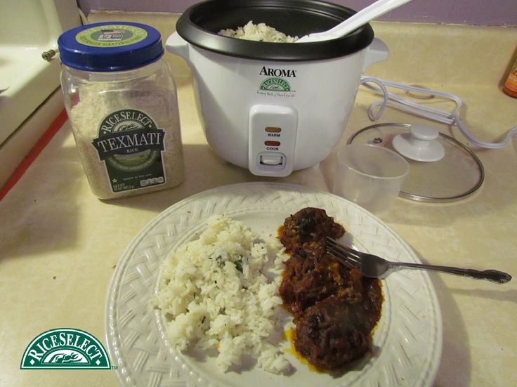 How Samantha K. on Facebook rethinks rice: Porcupine Meatballs with Texmati White Rice. #RethinkRice #Sweeps #RiceSelect #Rice #Recipe
