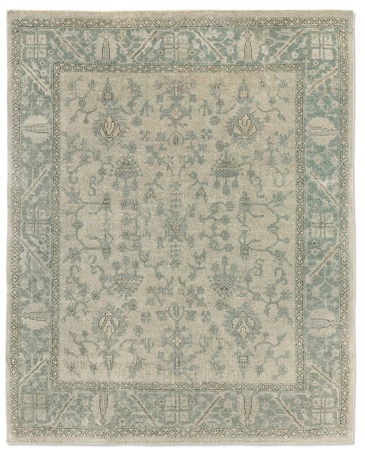 10 best muted rugs images on pinterest oushak rugs restoration hardware and room rugs for Restoration hardware bathroom rugs