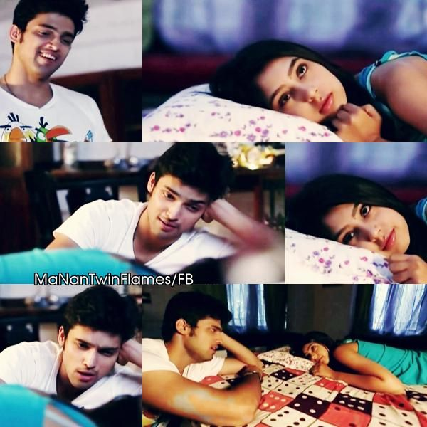 Listening to her favorite lullaby- his voice <3