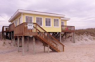 Oceanfront, Pet Friendly Cottage,Sleeps 9 - Next To Heaven Vacation Rental in Surf City