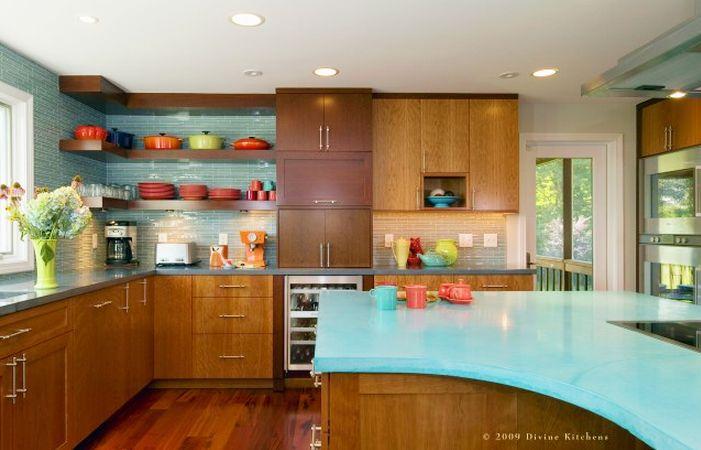 Mid Century Modern Kitchens On Good Mid Century Modern Kitchens