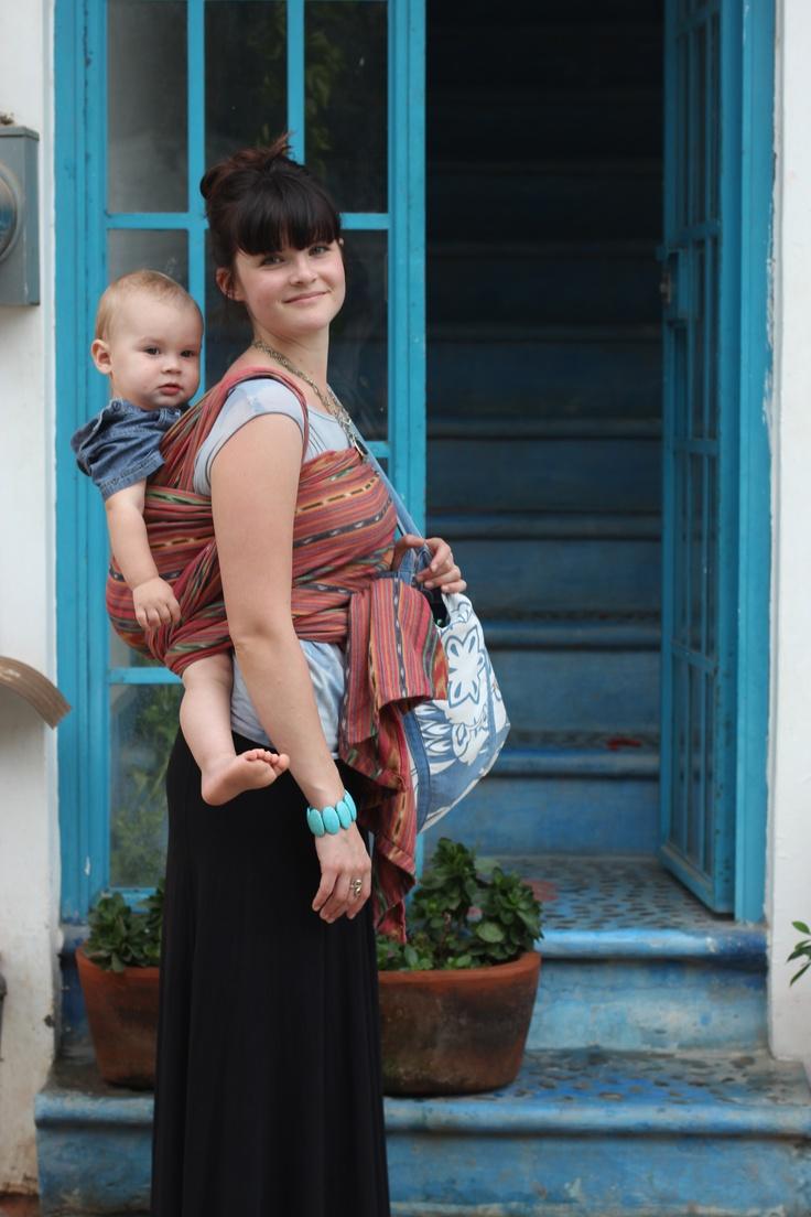 Girasol Mayan Solara, size 6, cotton #babywearing #wovenwraps #wraps #girasol