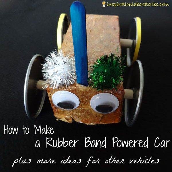 How To Make A Rubber Band Powered Car Lego Club For