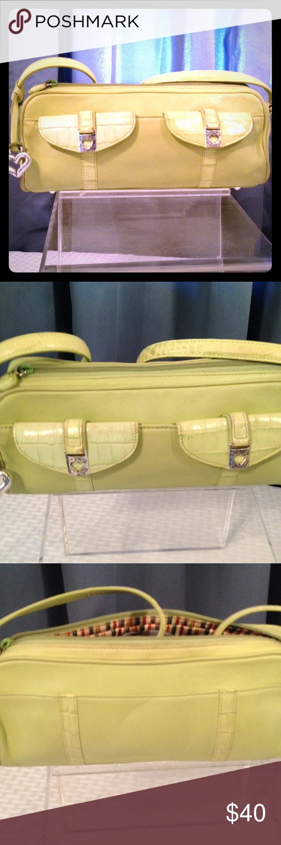 Brighton Purse with dust bag Brighton Purse Green in color with Dust cover Brighton Bags