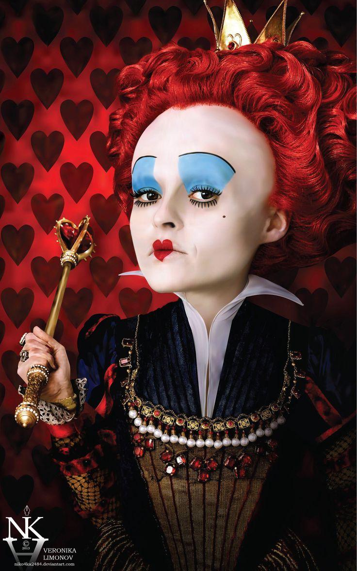 Red Queen - Alice in Wonderland -100% vector by niko4ka2484.deviantart.com on @deviantART