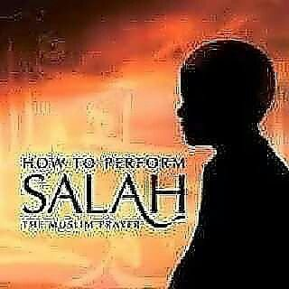 """The Qiblah in North America is towards the east with a slight angle towards the north.   2. Make Niyyat (intention) in your heart for the prayer you want to pray.   3. Raise your hands to your shoulders or earlobes and say: """"Allahu Akbar."""" This means: (Allah is the Greatest). This is called Takbir e tahreema.This is also a Rafa-Yadain in Namaz-- Raising the Hands in Salat."""
