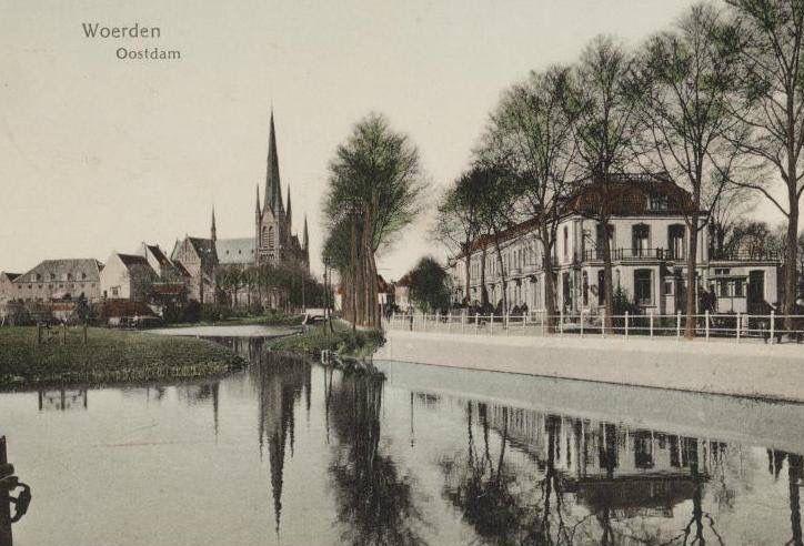 Oostdam 1e helft 20e eeuw