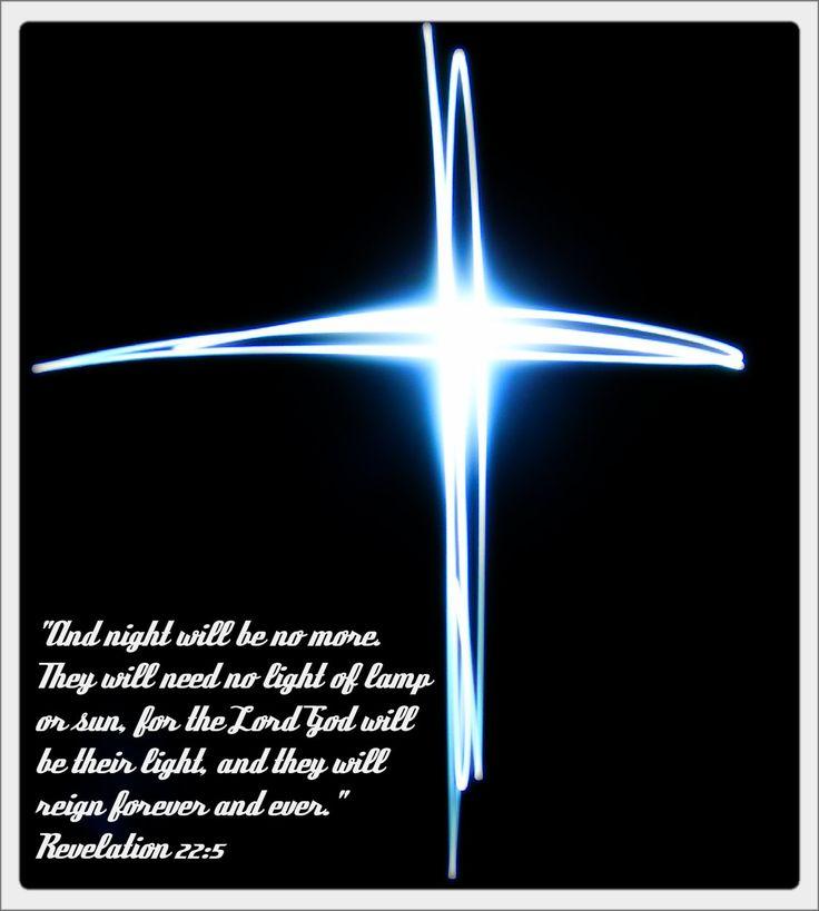 Image result for jesus will be light revelations 22