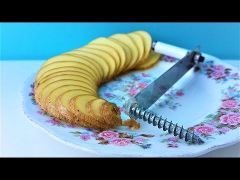 Spiral Potato Cutter - YouTube
