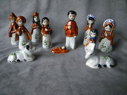 Details about mexican nativity set | Nativity Sets and ...