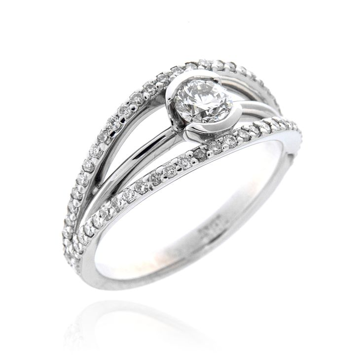 Contemporary Engagement Ring – 3300020