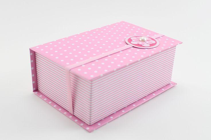 Caixa Livro - Forração em Papel - Cartonagem                                                                                                                                                                                 Mais