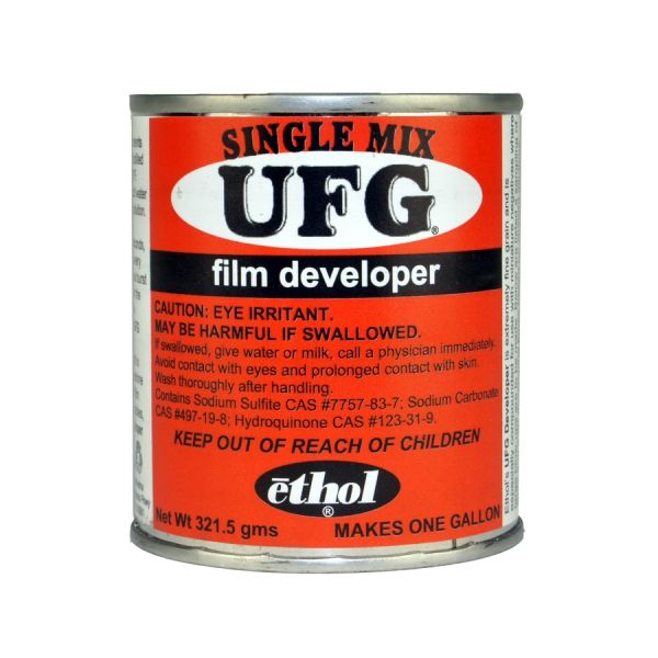 Ethol UFG Powder Film Developer (makes 1 gal.) Ultra-fine grain, normal contrast, high accutance, extreme latitude - $18