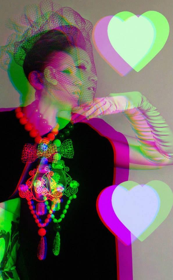 """Spring in Paris"" Returns ""Spring in Paris"" collection Photos - concept - styling: Takis Tsadilis Production – Pericles Kondylatos Jewellery by Pericles Kondylatos Dress by Vassilis Zoulias make up : Christina Ermidis for Make up Lab Hair styling: Renos Politis Model: Noelle Kondylatou"