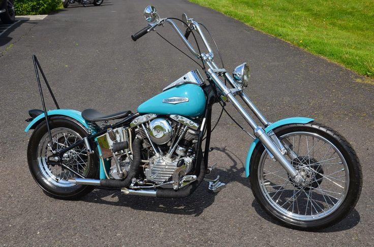 Harley Davidson Shovelhead 70 Chopper   biker excalibur II: 1949 HARLEY DAVIDSON PANHEAD SHOVELHEAD CHOPPER by ...