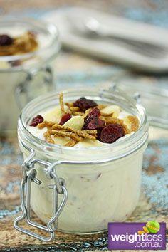 Yoghurt Medley. #HealthyRecipes #DietRecipes #WeightLossRecipes weightloss.com.au
