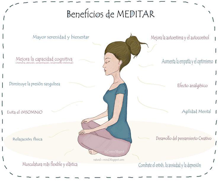 La meditación consiste en entrar en un estado de ánimo en el que es fácil concentrarse en una sola cosa. Descubre sus numerosos beneficios para tu salud.