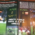 Roma-Inter con gli Ultra', documentario RAI Coppa Uefa 1991 » Football a 45 giri | Football a 45 giri