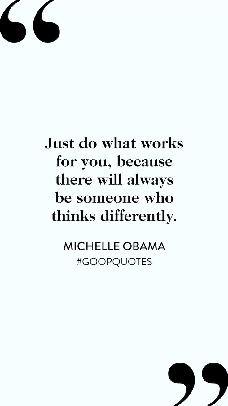One of our favorite motivational quotes from Michelle Obama.