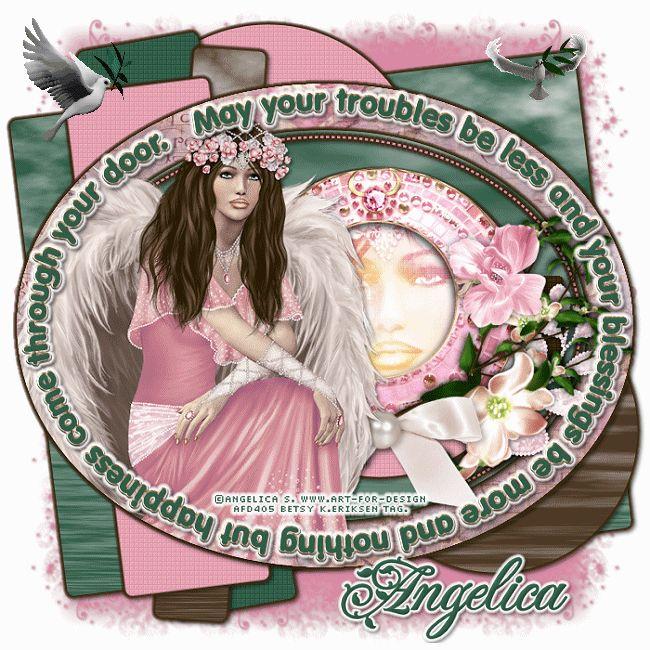Betsy's Paradise Dreamer: Angelica S.AURELIA Angel-Dee-Blessings-tempate