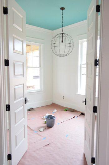 Paint, Light Fixtures, Doorknobs, & Green Vanities