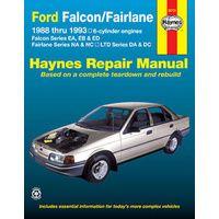 Ford Falcon EA to ED Fairlane & LTD Repair Manual 1988-1993 with MPN HA36731