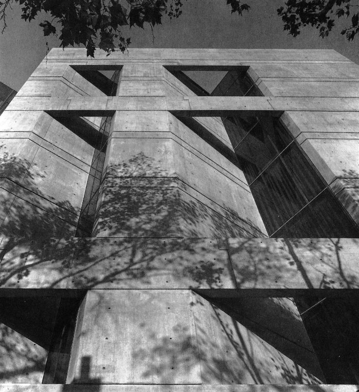 Headquarters, United Way of Southeast Pennsylvania, Philadelphia, 1971 (Mitchell/Giurgola Architects)
