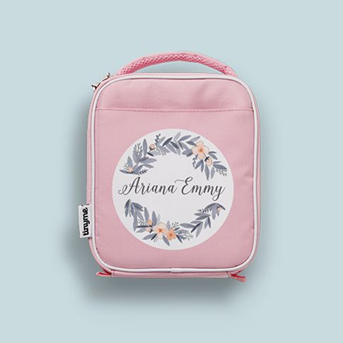 Adorable girls lunch bag by Tinyme