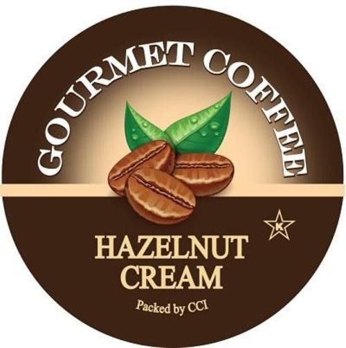Hazelnut Cream Coffee, 24 Count, Single Serve Cups Compatible With All Keurig K-cup Brewers
