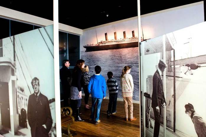 Die Titanic Ausstellung wurde zum 100 Jahrestag des tragischen Unglücks eröffnet.