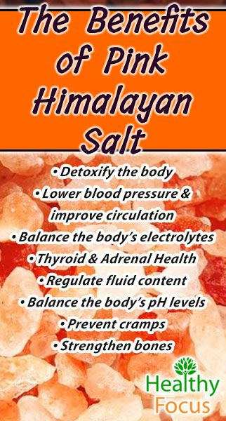 Find out the real Pink Himalayan Salt Health Benefits. Too much salt is bad--but its a good idea that the salt you do intake is as beneficial as possible.