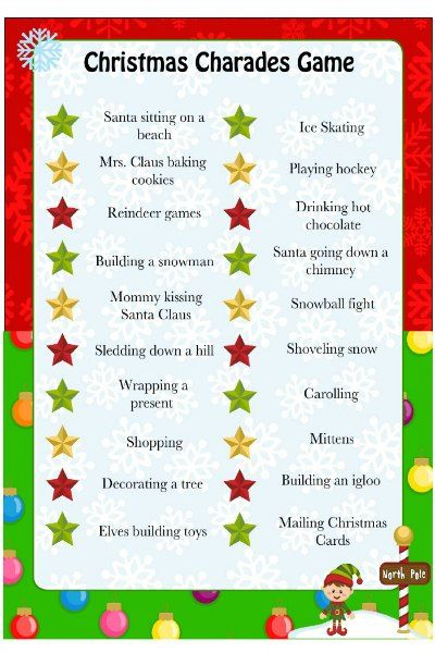Fun Christmas Party Games - Christmas Games Ideas for Everyone