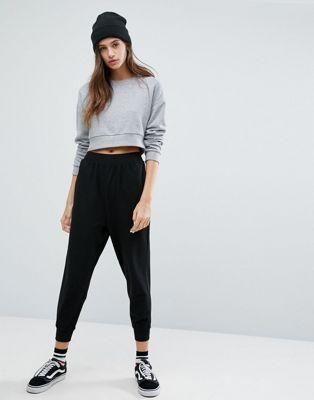 ASOS Basic Drop Crotch Joggers