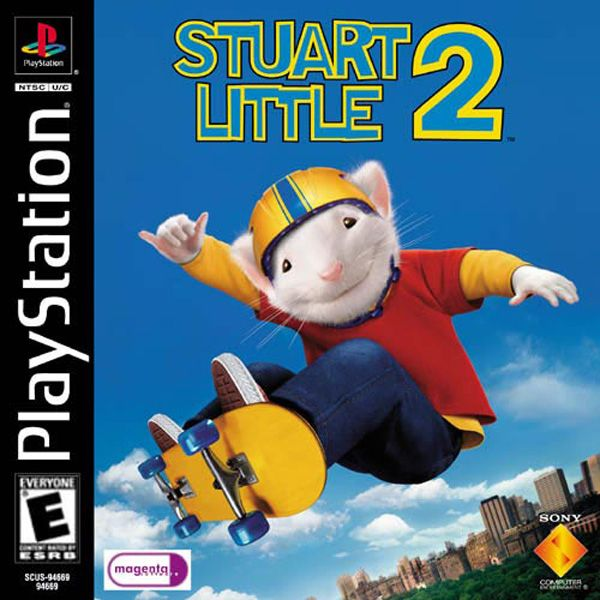Stuart Little 2 Playstation Video Game