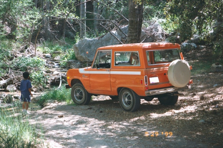My 1977 Early Ford Bronco in Big Bear back in 1999...Fun times!