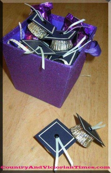 grad graduation hat favor party parties gift country and victorian times