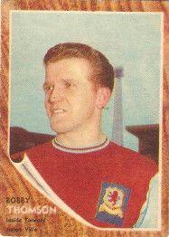 61. Bobby Thomson Aston Villa